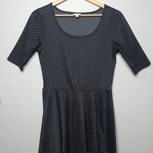 LuLaRoe Dark Grey Dress